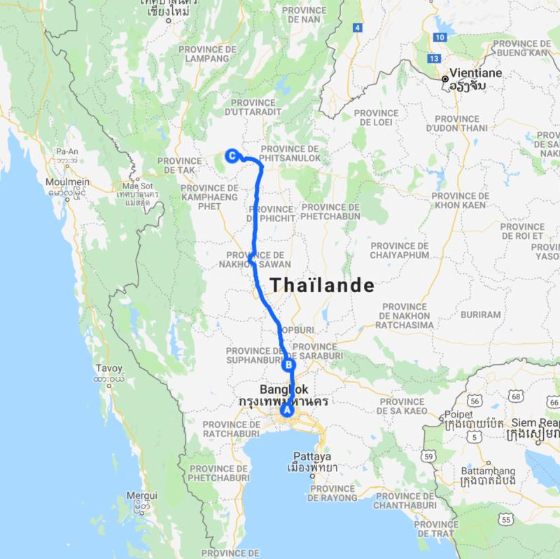 Thailande-Sukothai-Carte